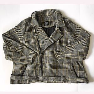 NWT Plaid Jacket coat plus size 4X